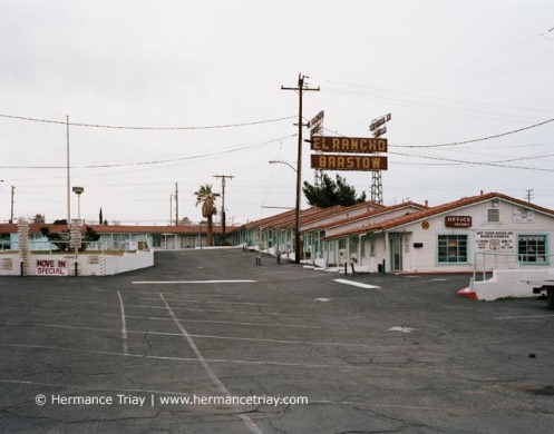 El Rancho Barstow motel, Californie, 2011