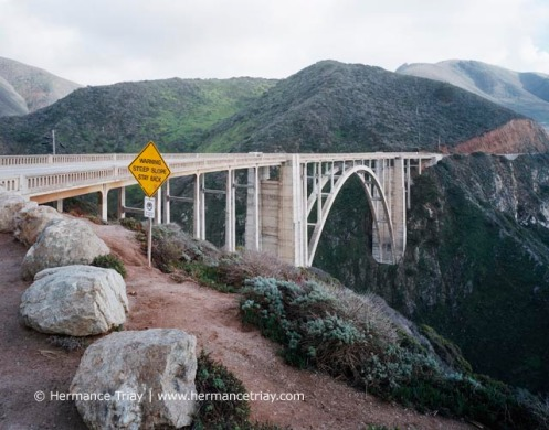 Bixby bridge, Californie, 2010