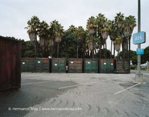 Containers, Californie, 2010